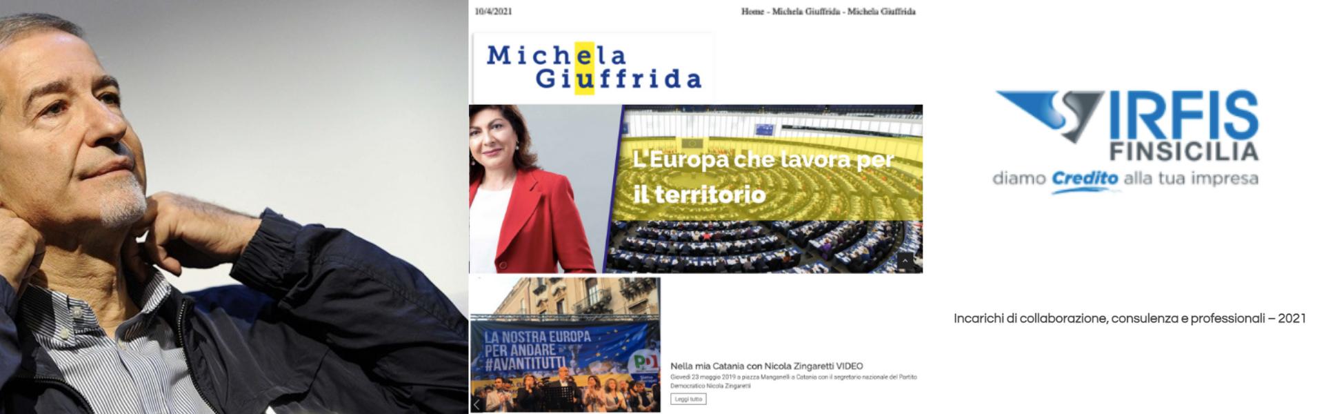 CONFERMATO: è la stessa Portavoce di Musumeci Michela Giuffrida a risultare anche consulente dell'IRFIS