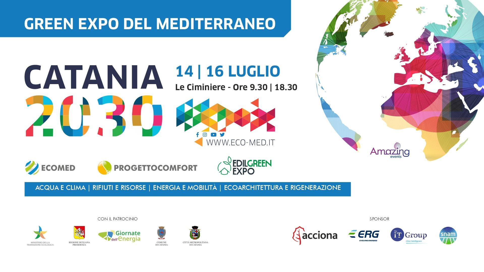 CATANIA 2030: a Le Ciminiere di Catania comincia l'evento dell'anno per un futuro sostenibile