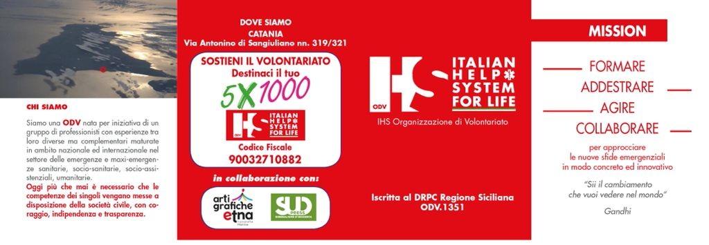Il 5X1000 ad Italian Help System for Life per diffondere la cultura dell'autosoccorso