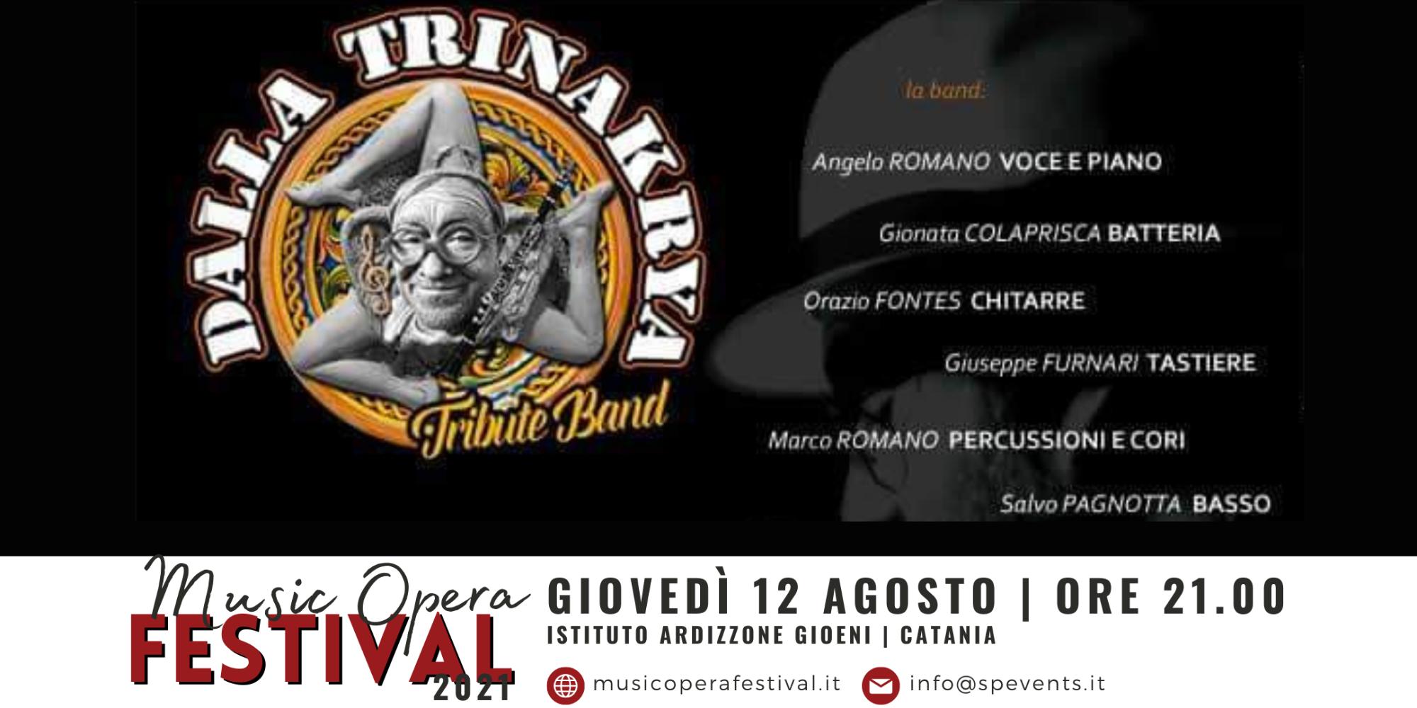 Questa sera all'Ardizzone le più belle canzoni di Lucio Dalla con Gionata Colaprisca, il suo batterista storico e la DallaTrinakria Tribute Band