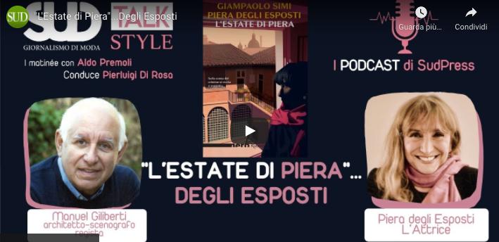 """Addio alla Signora del Teatro italiano Piera Degli Esposti che ci disse al nostro talk: """"Sento su di me il dolore del mondo"""""""