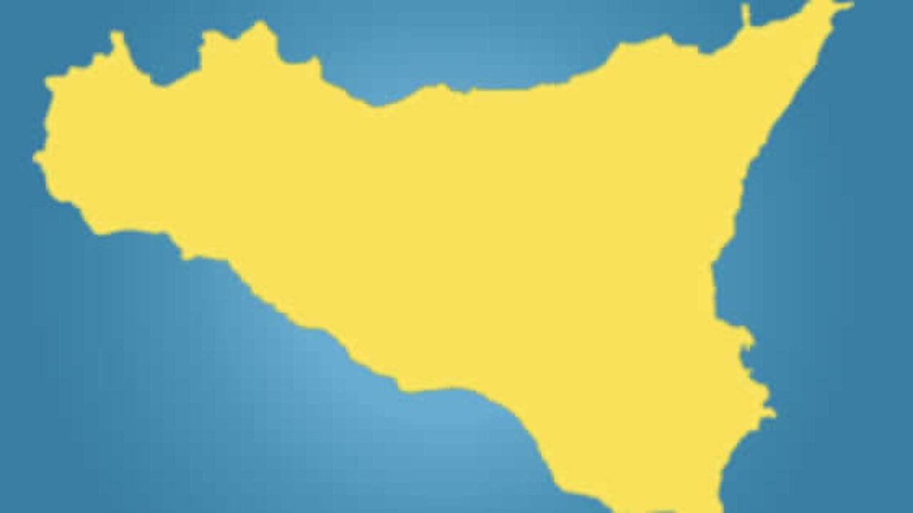 Da oggi la Sicilia è gialla. Di Vergogna
