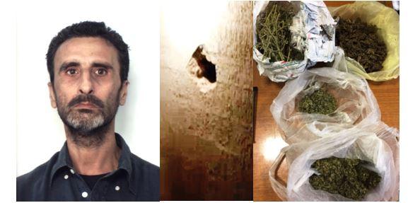 Catania, dal balcone di casa distribuiva al pusher le dosi di droga da spacciare
