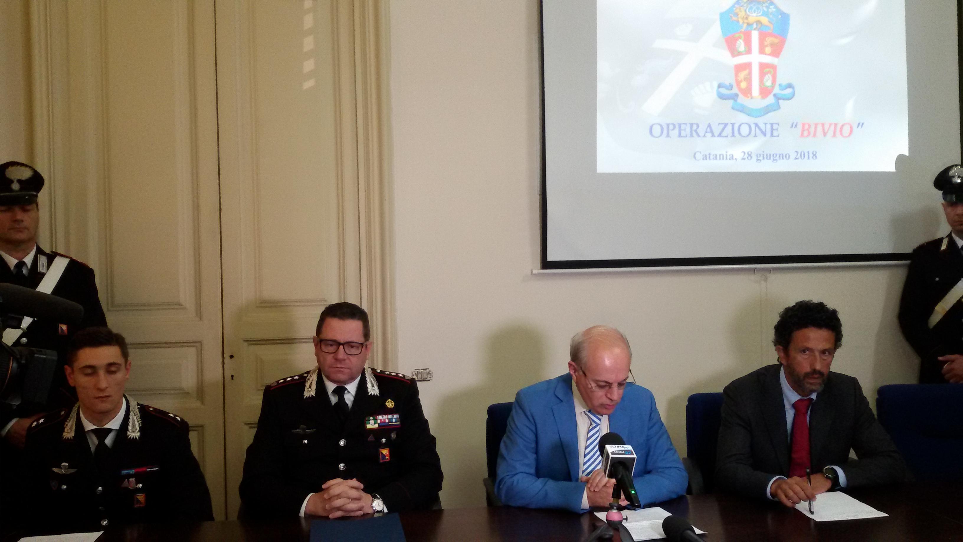 """Operazione """"Bivio"""" a San Cristoforo contro piazze di spaccio: i Carabinieri arrestano 27 persone"""