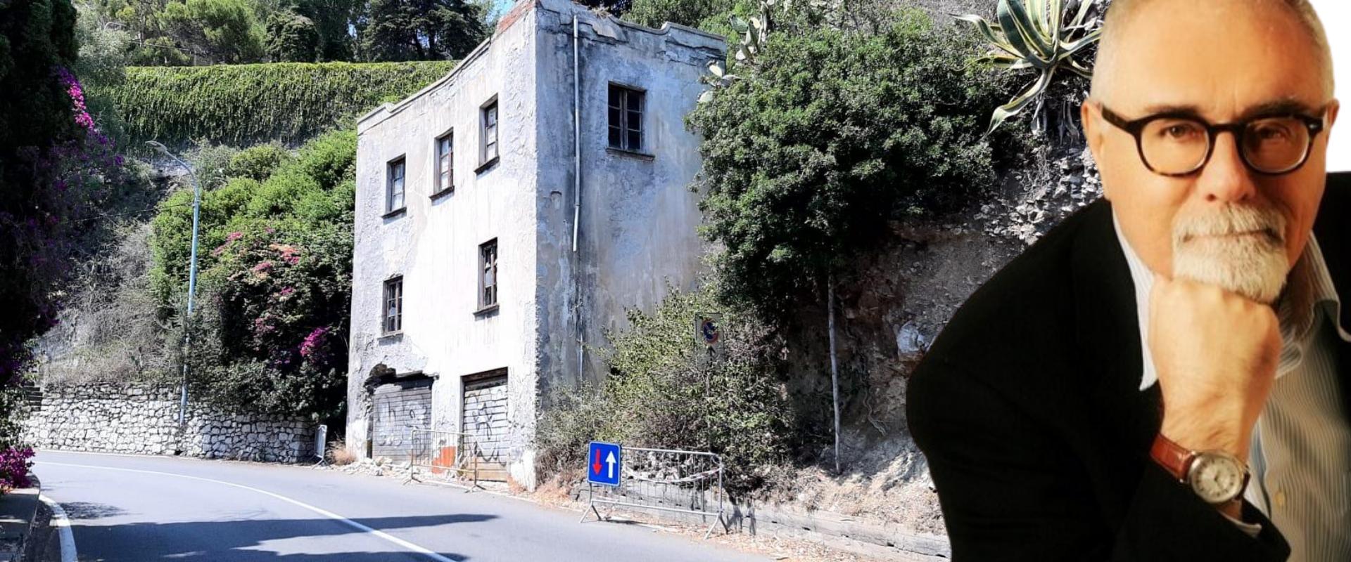 Taormina, casa pericolante, rischi per i turisti e il comune non fa niente. Da anni