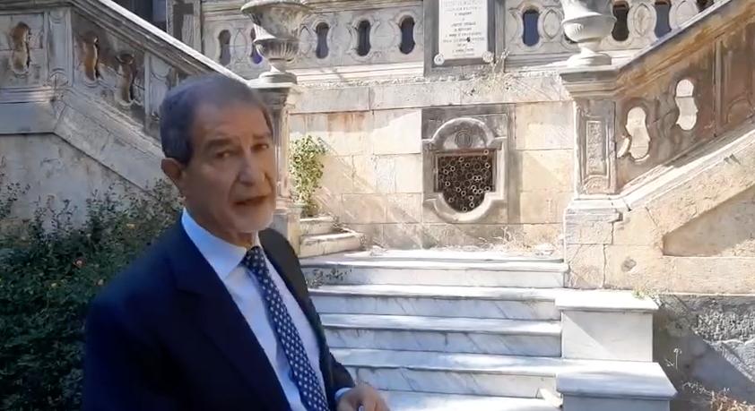 Ex ospedale Vittorio Emanuele-Santa Marta di Catania: l'impegno del presidente Nello Musumeci