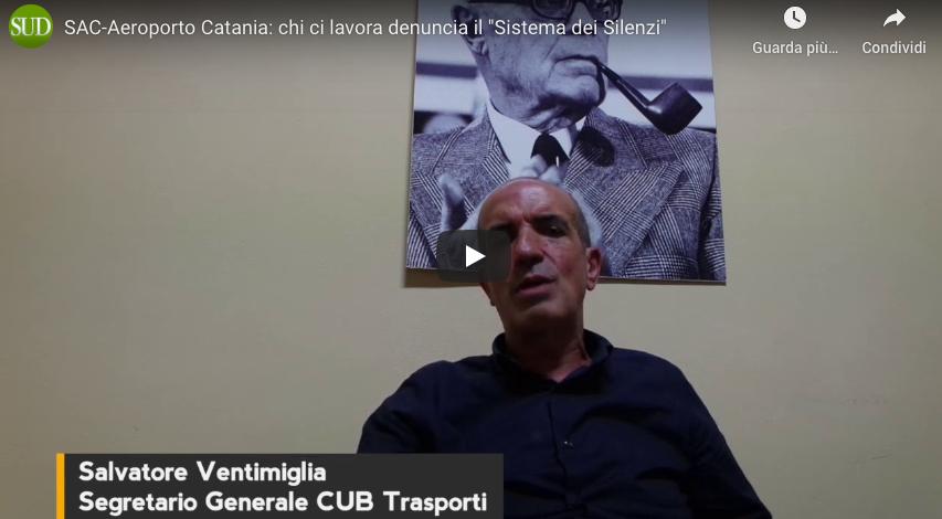 """SAC-Aeroporto Catania: """"Perché il dirigente Antonio Palumbo temeva di essere arrestato per colpa di Nico""""?"""