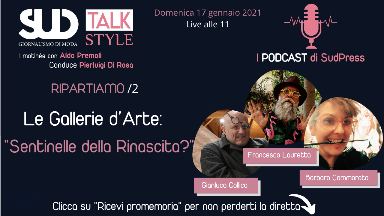 SudStyle Talk live alle 11: